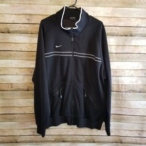Vintage Team Nike Spellout Track Jacket 2XL EUC